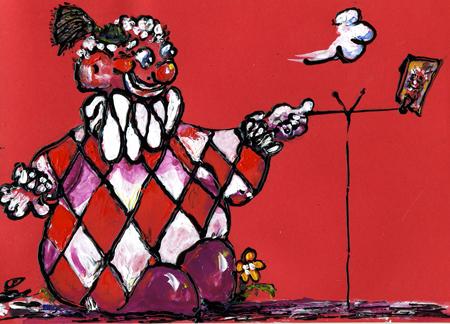 clownSelfie