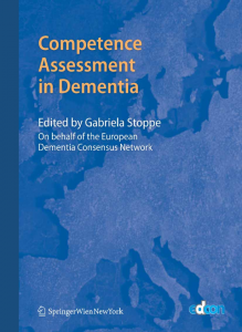 Competence Assessment in Dementia (Gabriela Stoppe). 2008.
