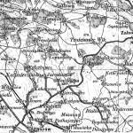 Umgebung von Olejow (zum Vergrößern anklicken)